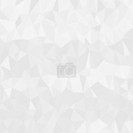 Illustration for Light clean modern low poly background pattern - Royalty Free Image
