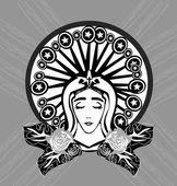 Portrét Panny Marie