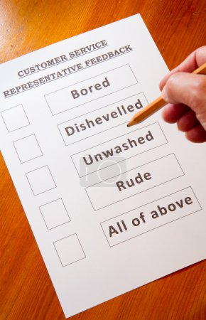 Fun Customer Service Feedback Form