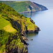 Lynmouth in Devon, England, is on the north edge o...