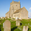 The Norman Old Church of St Nicholas at Uphill, So...