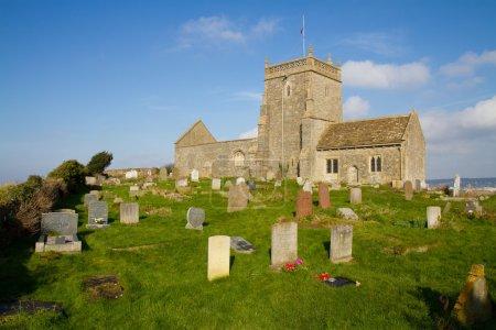 Norman Church of St Nicholas Uphill Weston-super-mare Somerset