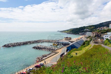 Ventnor Isle of Wight uk south coast of the island tourist town