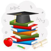 Habarcs táblán könyv diploma
