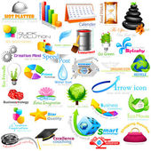 Abstract Business Element
