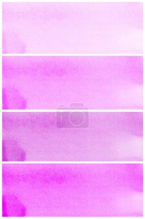 Foto de Set de púrpura abstracta fondo acuarela - Imagen libre de derechos