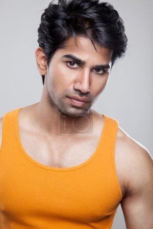 Handsome Indian man