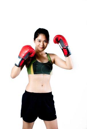 Asian Female fighter