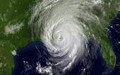 "Постер, картина, фотообои ""Спутниковое фото ураган Катрина над Мексиканского залива"""
