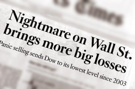 Кошмар на Уолл-стрит