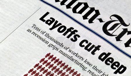 Layoffs cut deep