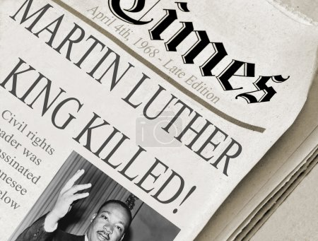 Martin Luther King Killed