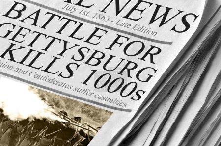 Bataille de gettysburg tue des milliers