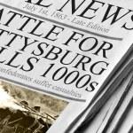 Battle For Gettysburg Kills Thousands - Newspaper ...