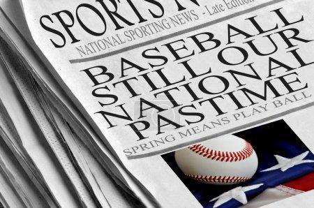 Baseball Still Our National Pastime