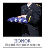 Honoring the fallen hero