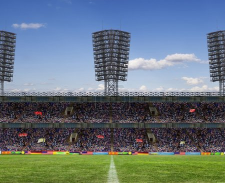 Photo for The beginning of a football match - Royalty Free Image