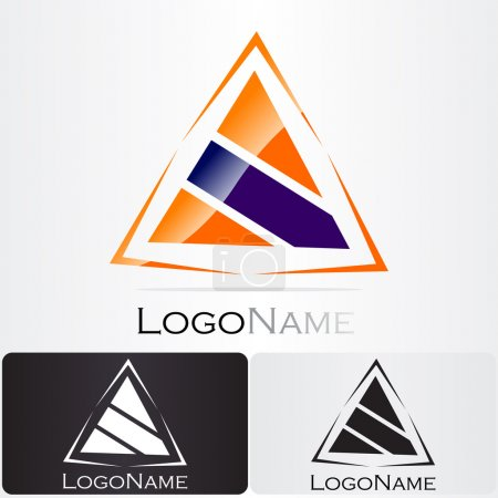 Illustration for Great design for a new company logo - Royalty Free Image