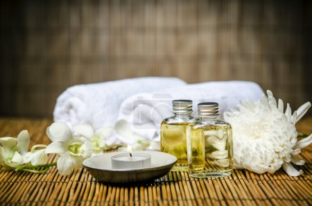Aromatherapy oil for spa treatment...