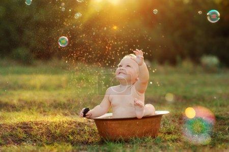 Kid et soleil