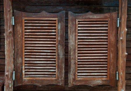 Old western swinging Saloon doors...