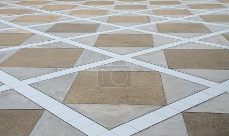 Abstract of ceramic floor background
