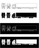 Semitrailer truck