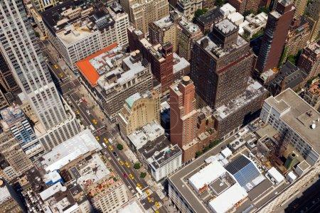 5th Ave New York City Street Scene