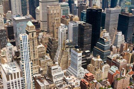 New York City Manhattan Skyline Buildings