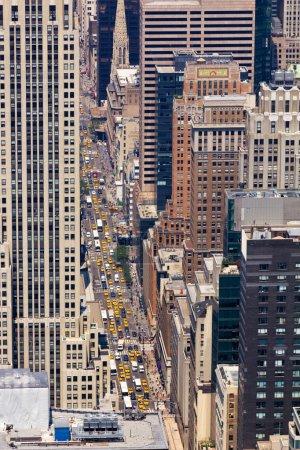 5th Ave Street Scene in New York City