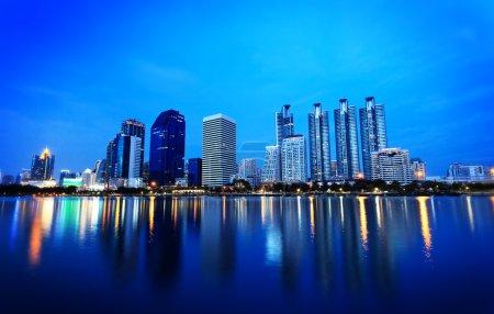 Twilight at Bangkok, Thailand