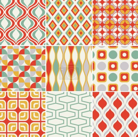 Illustration for Seamless retro pattern - Royalty Free Image