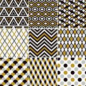Seamless gold pattern print
