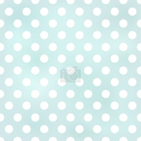 Illustration for Seamless polka dots background - Royalty Free Image