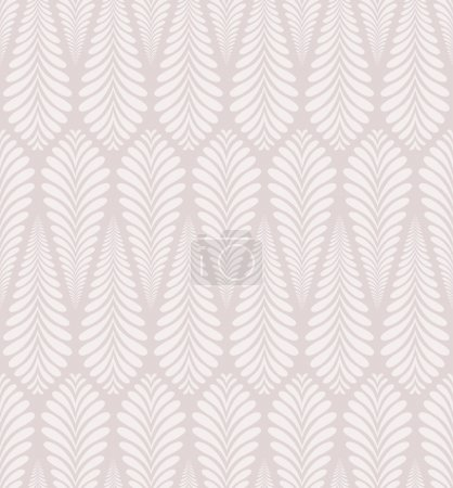 Seamless plant abstract background