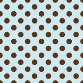Seamless retro polka dots pattern