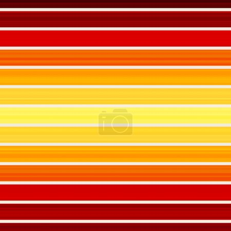 Seamless red and yellow stripes pattern