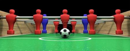 Foosball Table One Team