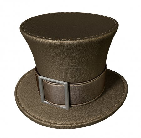 Mad Hatters Top Hat Perspective