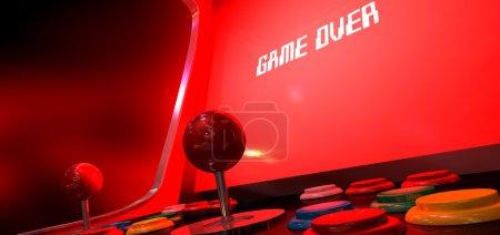Arcade Game Game Over