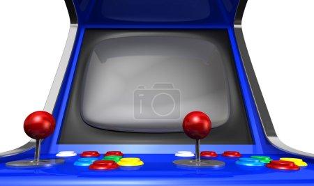 Arcade Machine Closeup