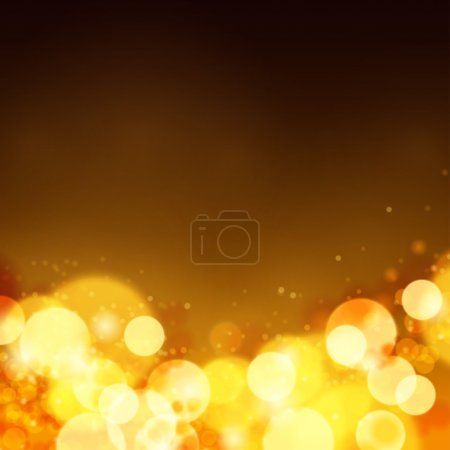 Lights on bokeh background