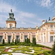 Baroque Wilanow Palace in Warsaw, Poland, built by...