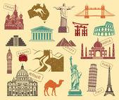 Symbols of travel