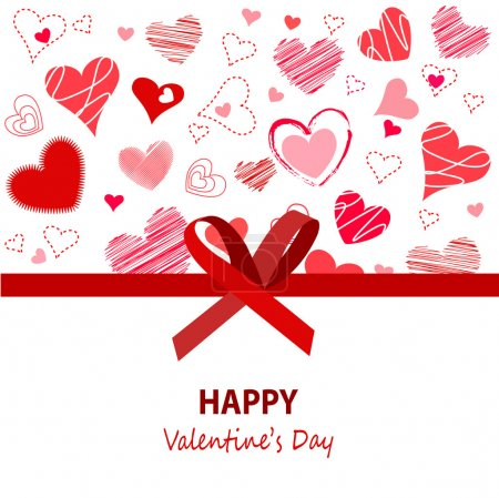 Illustration for Happy Valentines Day - Royalty Free Image