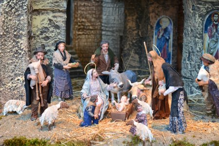 Vatican nativity scene