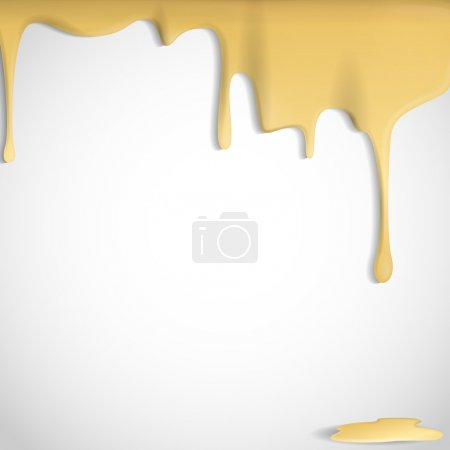 Illustration pour Fromage jaune Contexte. Illustration vectorielle. Eps 10. - image libre de droit