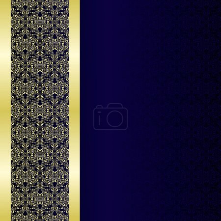Luxury Background decorated a golden border.