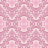 Seamless damask Wallpaper in shades of pink is presented