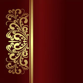 Elegant Background with golden Border